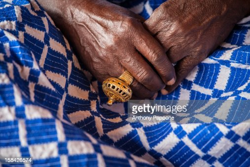 Gold ring at the Akwasidae the great celebration