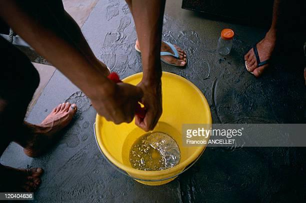 Gold seekers in Brazil