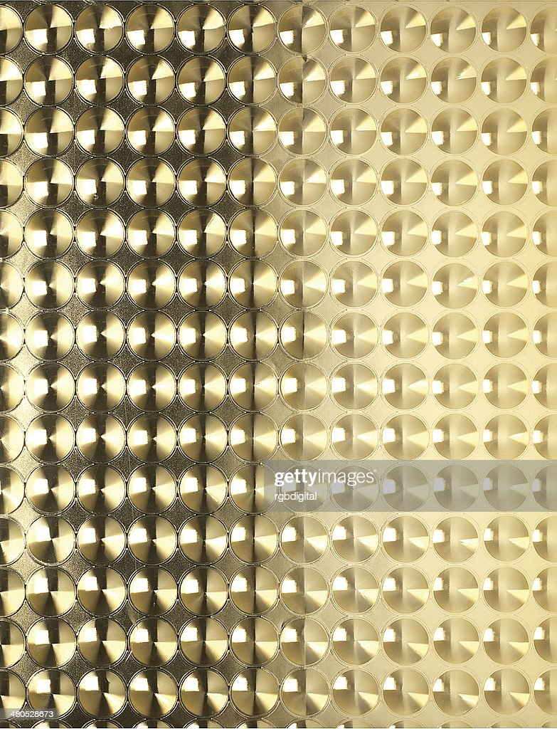 Gold sheet pattern : Bildbanksbilder