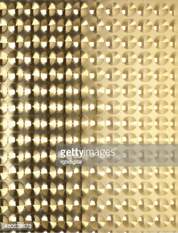 Gold sheet pattern : Stock Photo