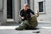 AFFAIRS 'Gold Soundz' Episode 516 Pictured Nic Bishop as Ryan McQuaid
