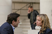 AFFAIRS 'Gold Soundz' Episode 516 Pictured Shawn Doyle as Belenko Piper Perabo as Annie Walker