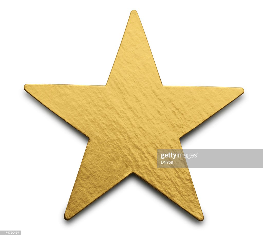 Gold Star : Stock-Foto