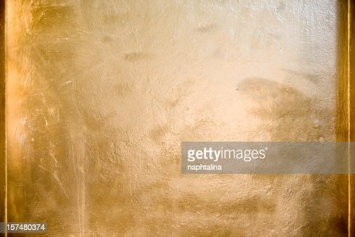 Gold surface