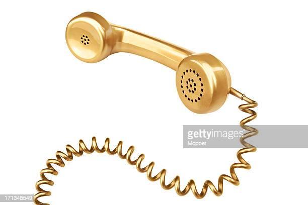 Gold Telephone