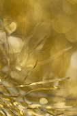 Gold tinsel background