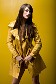 Gold Trench Coat