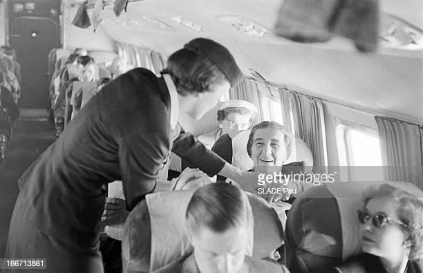 Golda Meir Trip To Washington En mars 1957 le ministre des affaires étrangères israélien Golda MEIR s'est rendu à Washington pour discuter avec le...