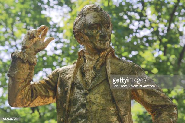 A goldcovered statue of Thomas Paine is found in the Parc Montsouris along the Boulevard Jourdan in the 14th arr the inscription reads ÒThomas Paine...