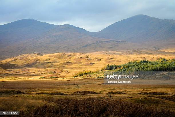 Golden autumnal Scotland, Isle of Mull