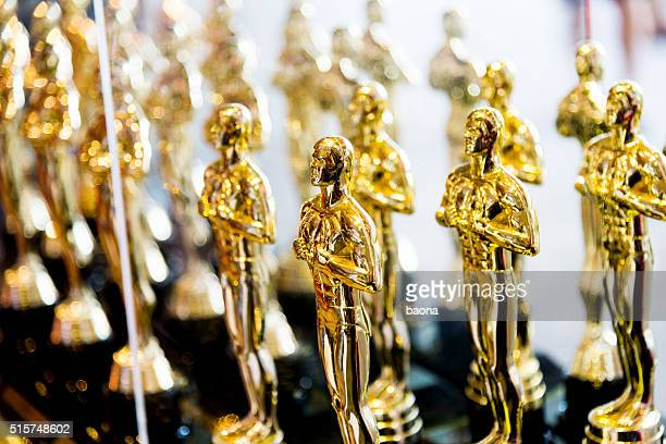 Golden award statues clone