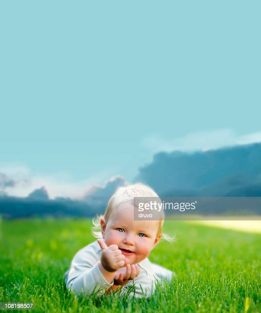 Golden Baby - Thumbs Up!