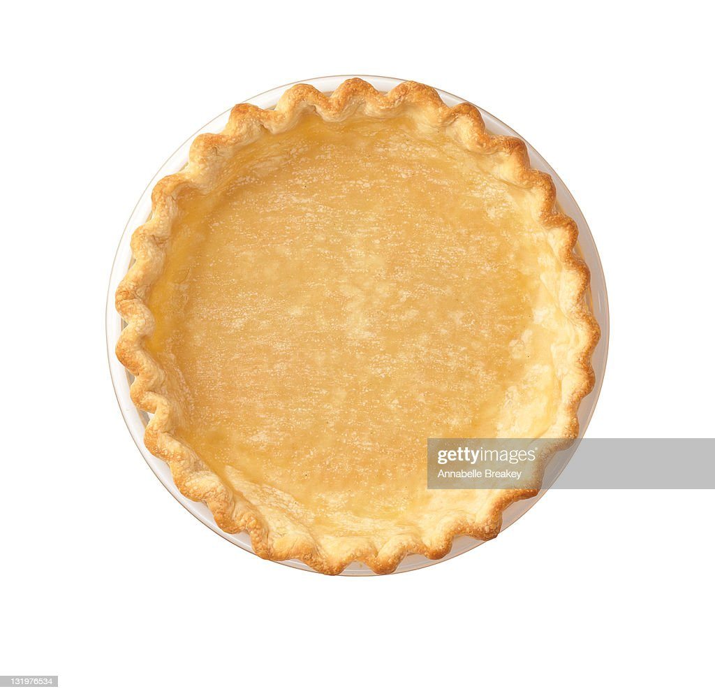 Golden Baked Pie Crust : Stock Photo