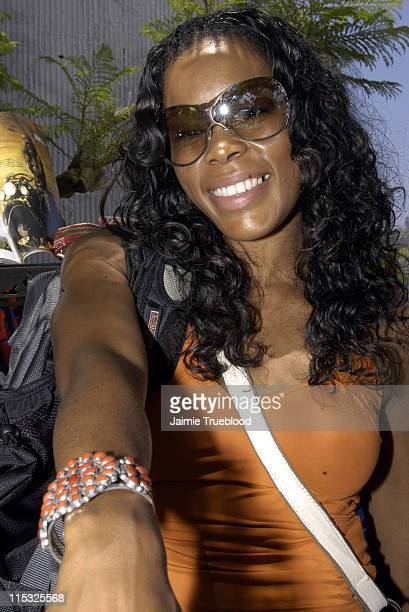 Golden Brooks at Rosa Cha during Cabana PreMTV Movie Awards Beauty Buffet Day Two at Private Residence in Hollywood California United States