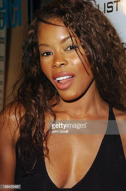 Golden Brooks during Conde Nast Traveler Hot Nights Los Angeles Red Carpet at Spider Club in Hollywood California United States