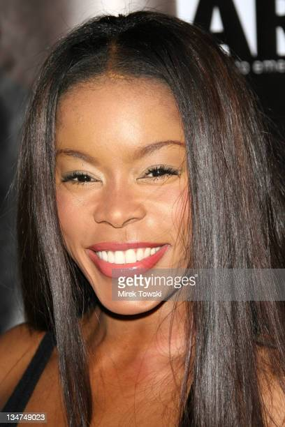 Golden Brooks during Gen Art and Acura Present 'The New Garde' Fashion Show Arrivals at Park Plaza Hotel in Los Angeles California United States