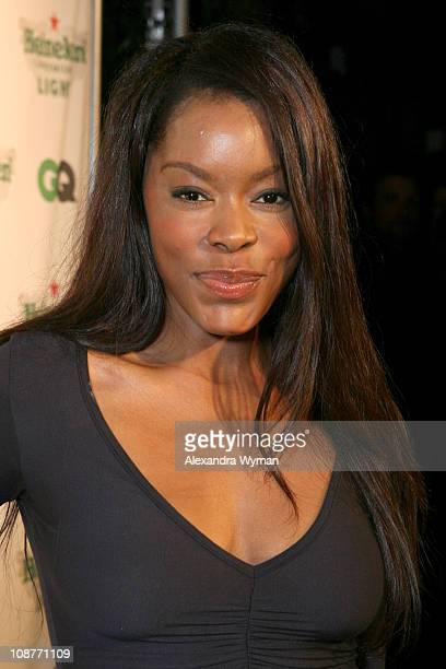 Golden Brooks during GQ Magazine Celebrates Heineken Premium Light at Les Deux in Los Angeles California United States