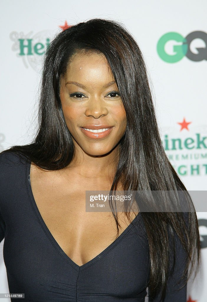 <a gi-track='captionPersonalityLinkClicked' href=/galleries/search?phrase=Golden+Brooks&family=editorial&specificpeople=211460 ng-click='$event.stopPropagation()'>Golden Brooks</a> during GQ Magazine Celebrates Heineken Premium Light at Les Deux in Hollywood, California, United States.