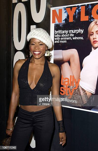 Golden Brooks during Nylon Magazine Party to Celebrate the October Issue with Brittany Murphy at The Ivar at Ivar in Los Angeles California United...