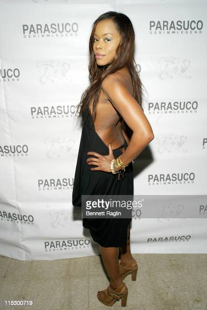 Golden Brooks during Parasuco Launch Party with DJ AM at Parasuco in New York City New York United States