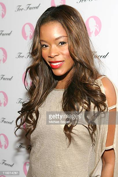 Golden Brooks during Too Faced Cosmetics and Sephora Present Love Lisa Armed and Glamorous at Sephora at Hollywood and Highland in Hollywood...