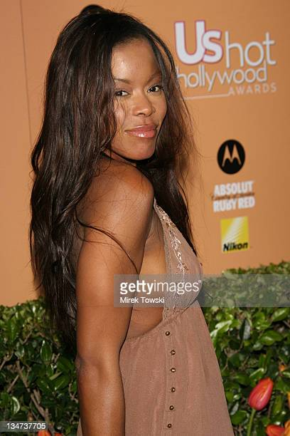Golden Brooks during Us Weekly Hot Hollywood Awards at Republic Restaurant and Lounge in West Hollywood CA United States
