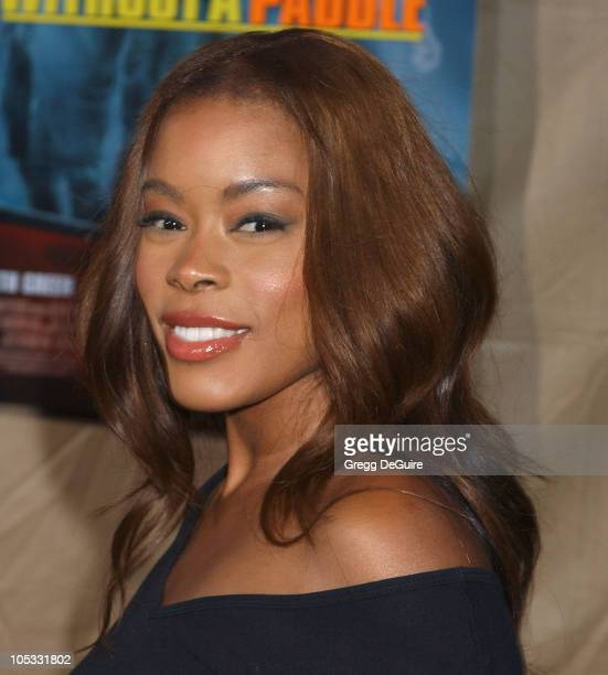 Golden Brooks during 'Without A Paddle' Los Angeles Premiere Arrivals at Paramount Studios in Los Angeles California United States