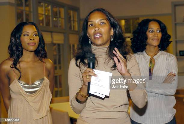 Golden Brooks Mara Brock Akil and Tracee Ellis Ross