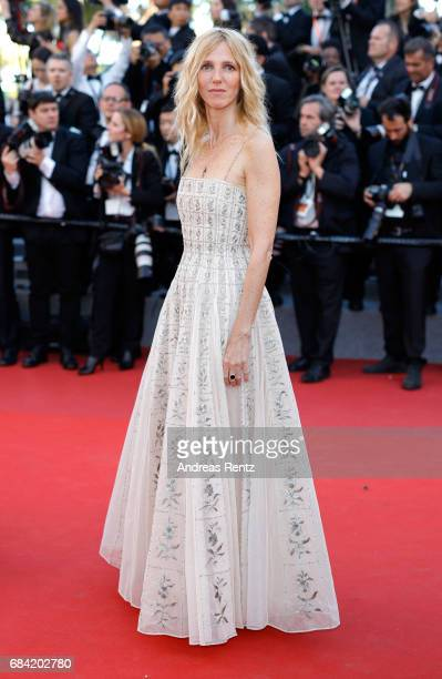 Golden camera jury president actress Sandrine Kiberlain attends the 'Ismael's Ghosts ' screening and Opening Gala during the 70th annual Cannes Film...