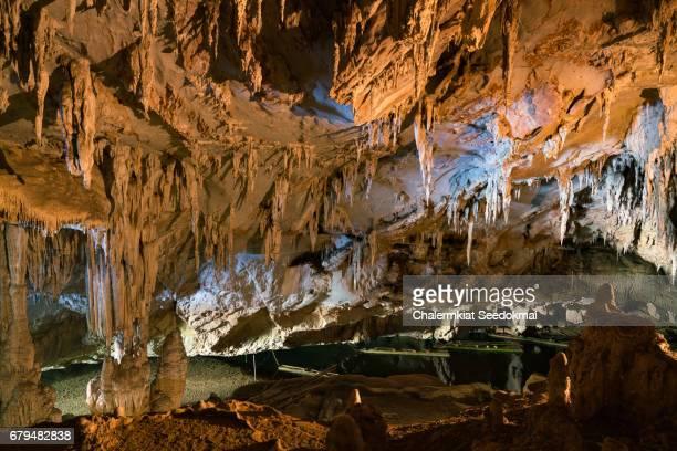 Golden Cave in Thailand