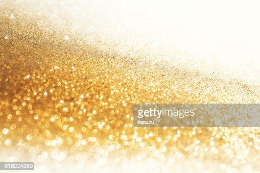 Golden Christmas background : Stockfoto