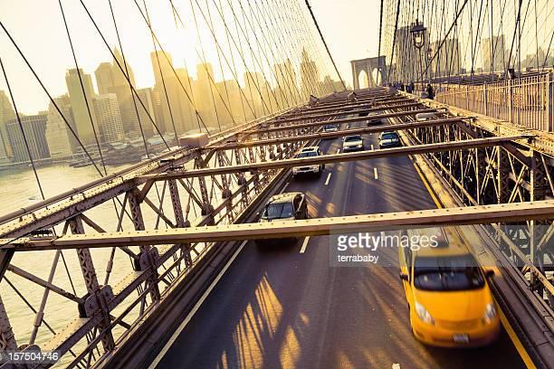 Golden City New York Brooklyn Bridge