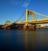 Golden Clemente Bridge