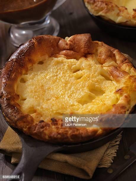 Golden, Crispy Skillet Yorkshire Puddings