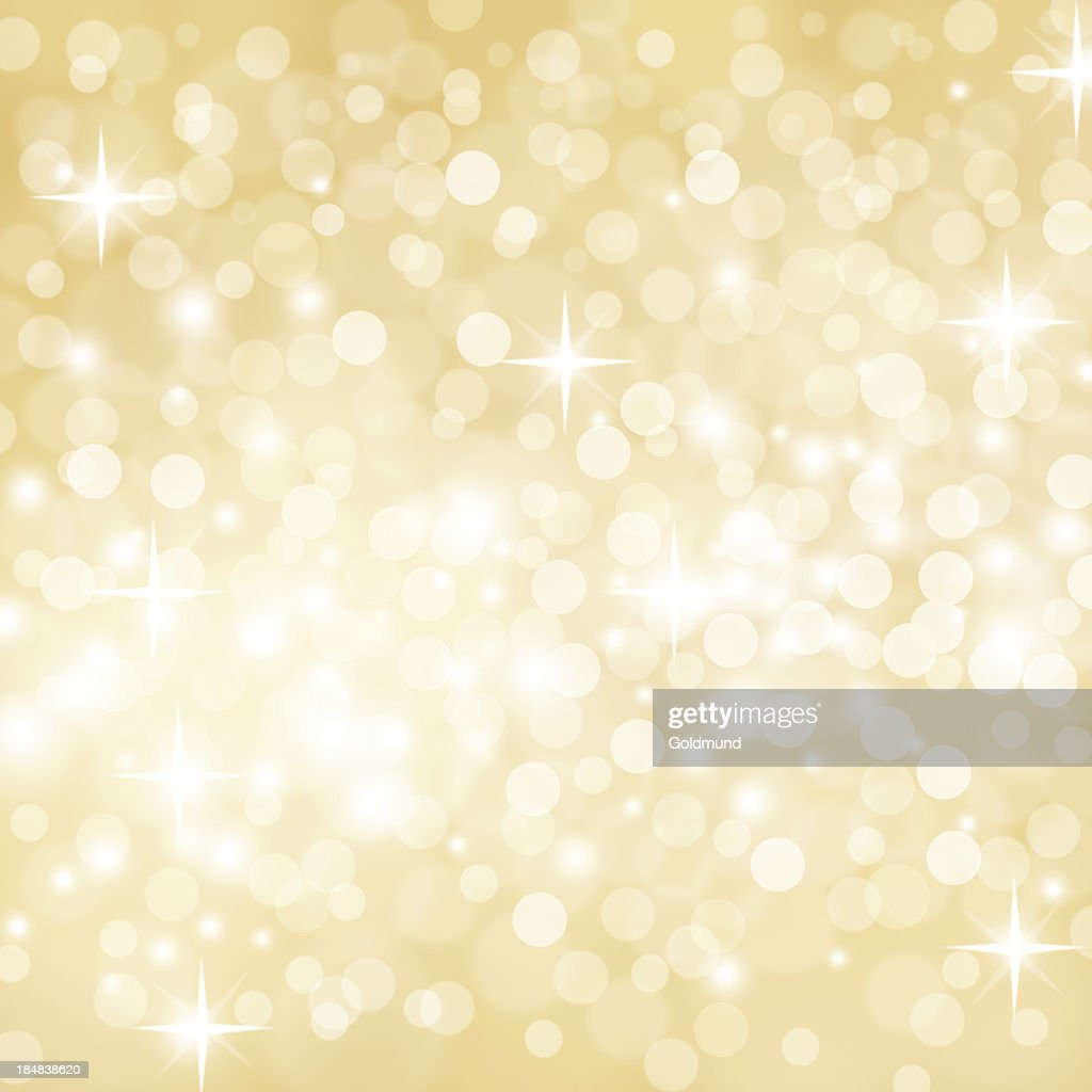 Golden Defocused Lights