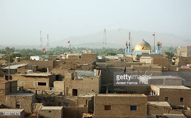 Golden dome of Shrine of Hazrat Lal Shahbaz Qaland