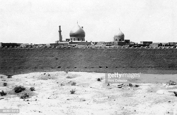 Golden dome of the Samarra mosque Mesopotamia 1918 Mesopotamia formerly part of the Turkish Ottoman empire was under British military control from...