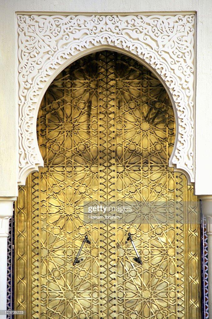Golden Door and an Arch Way Casablanca Morocco : Stock Photo & Golden Door And An Arch Way Casablanca Morocco Stock Photo   Getty ... Pezcame.Com