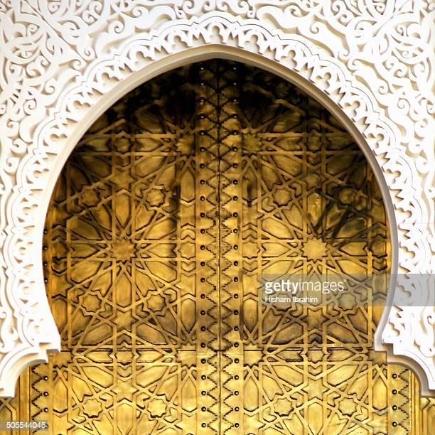 Golden door and an Arch Way