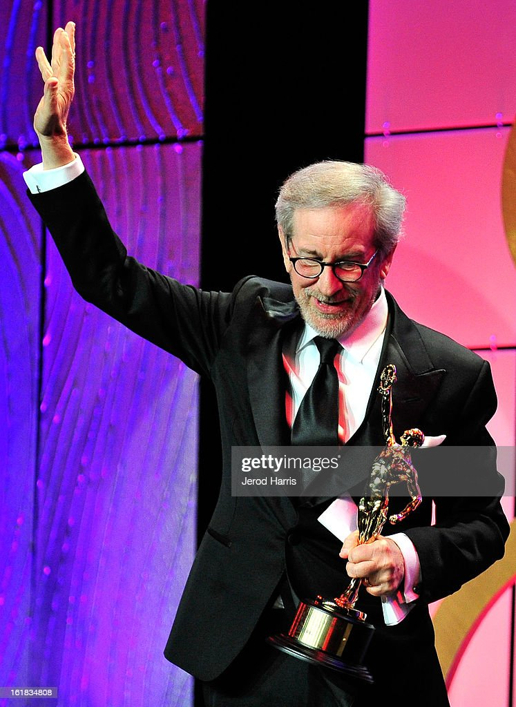 Golden Eddie Honoree Steven Spielberg attends the 63rd Annual ACE Eddie Awards at the Beverly Hilton Hotel on February 16, 2013 in Beverly Hills, California.