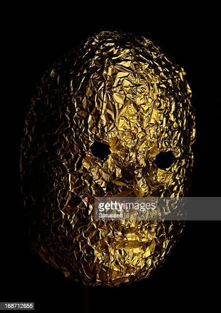Golden Foil Mask