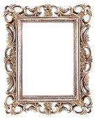 Golden Frame Isolated