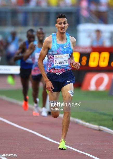 Golden Gala Iaaf Diamond League Rome 2017 Soufiane El Bakkali competes in 3000m Steeplechase Men at Olimpico Stadium in Rome Italy on June 8 2017