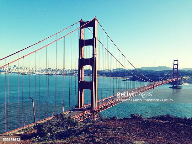 golden gate bridge blue - photo #11