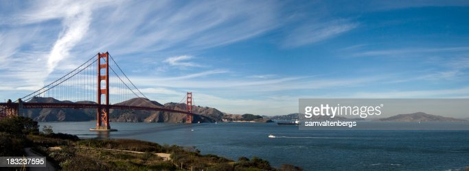 Golden Gate Bridge and Angel Island