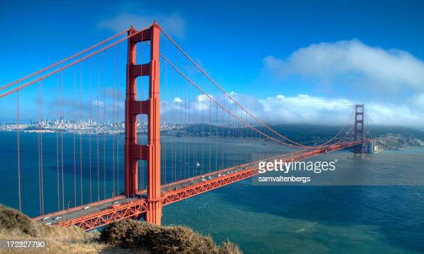Golden Gate Bridge und San Francisco