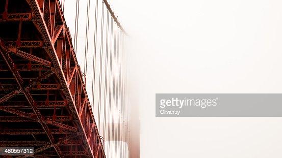 Golden Gate Bridge, Architecture Fog : Stock Photo