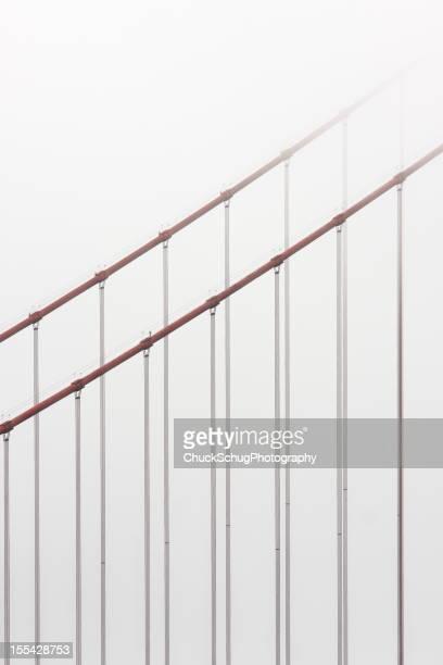 Golden Gate Bridge Cable Fog