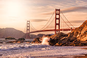 Golden Gate Bridge from Baker Beach