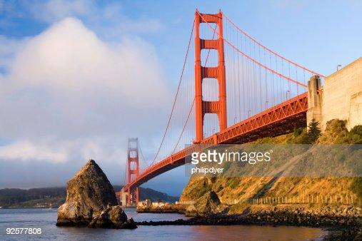 Golden Gate Bridge in Fog-Horizontal